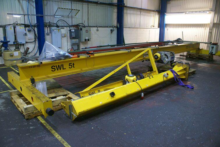 Used Jib Crane Hoist : Used cranes for sale goliath jib
