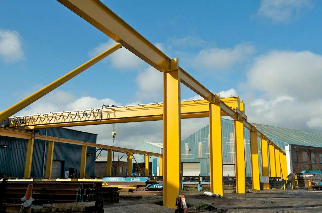 Supporting Gantry Steelworks