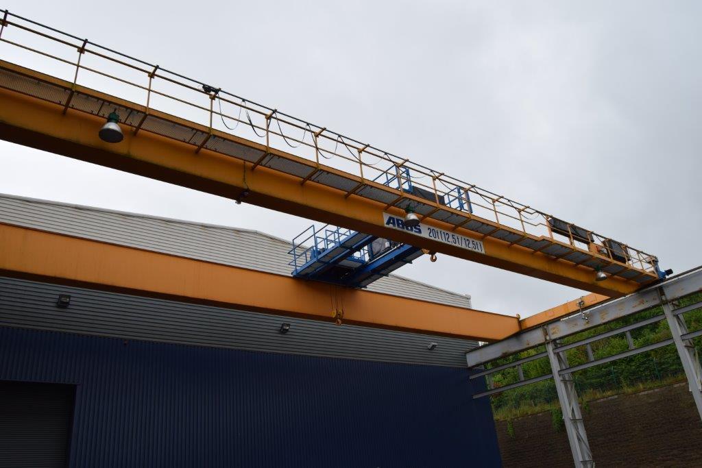 Abus 2 x 12.5 Tonne 30 Metre Crane