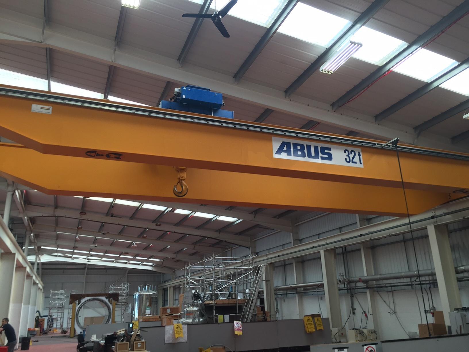 Abus 32 Tonne 15 Metre Crane
