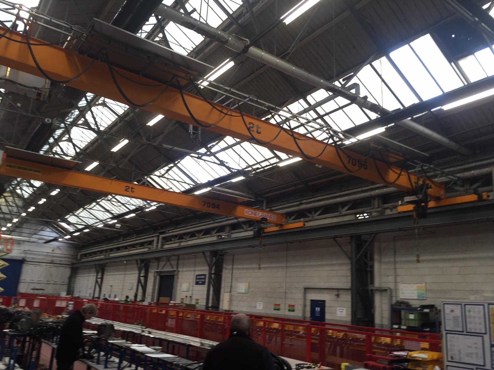 Kone 2 Tonne 15 Metre Crane