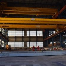 Cammell Laird SWF Overhead Gantry Cranes