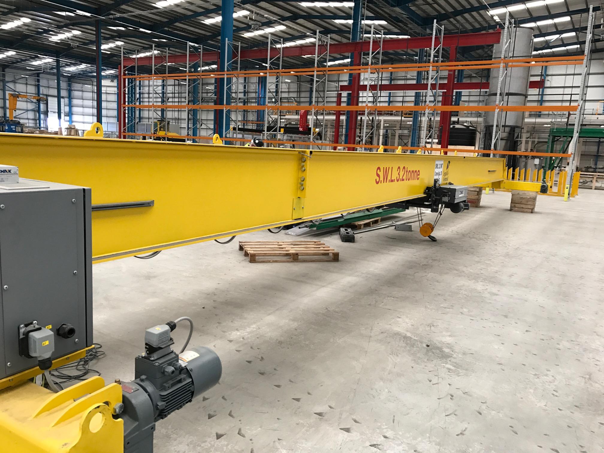 Cmak 3.2 Tonne 18 Metre Crane