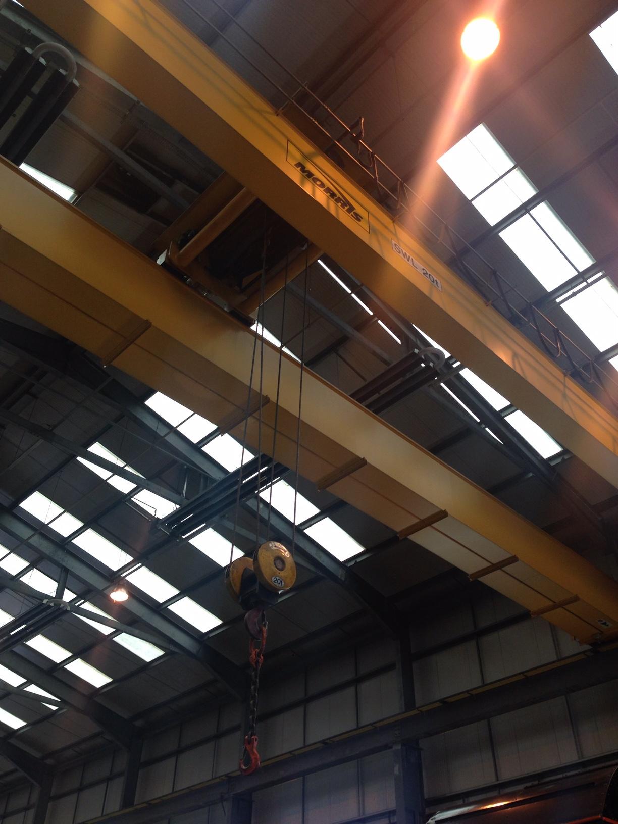 Morris 20 Tonne 22 Metre Crane